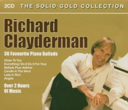 Richard Clayderman 36 Favourite Paino Ballads Import Gbr 2 CD
