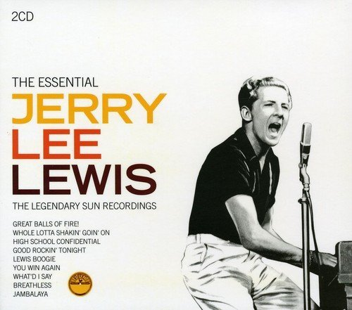 Lewis Jerry Lee Essential Jerry Lee Lewis Import Gbr 2 CD Set