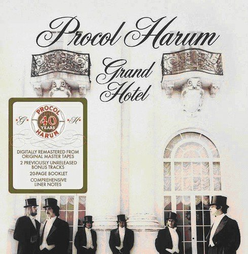 Procol Harum Grand Hotel Import Gbr Incl. Bonus Tracks