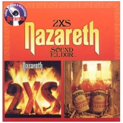 Nazareth 2xs Sound Elixir Import Gbr Digipak Remastered
