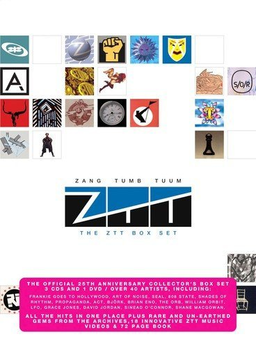 Zang Tumb Tuum Ztt Box Set Import Gbr 4 CD