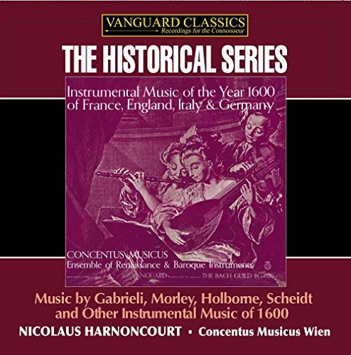Nikolaus Harnoncourt Instrumental Music From The Ye