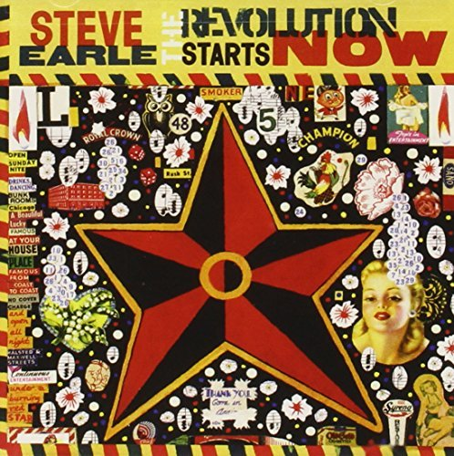 Steve Earle Revolution Starts Now