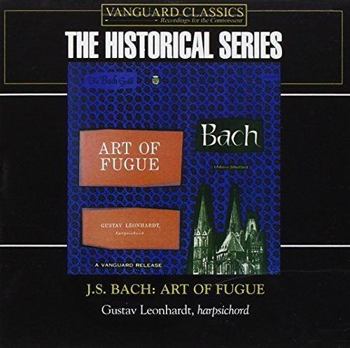 Johann Sebastian Bach Art Of Fugue 2 CD Set