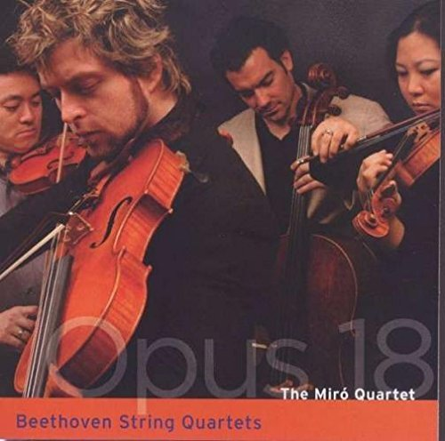 Ludwig Van Beethoven Opus 18 Miro Quartet 2 CD Set