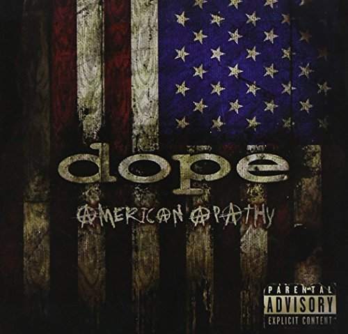 Dope American Apathy Explicit Version 2 CD Set