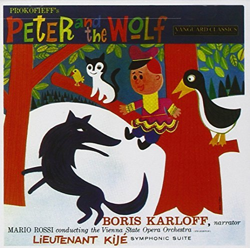 Boris Karloff Peter & The Wolf