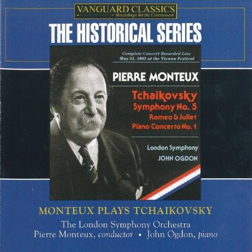 Pierre Monteux Monteux Plays Tchaikovsky 2 CD Set