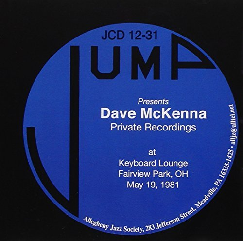 Dave Mckenna Private Recordings At Keyboard