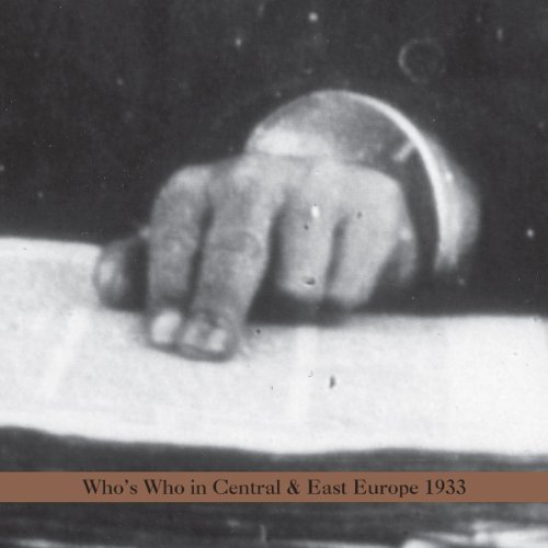 Arnold Dreyblatt Who's Who In Central Europe 19