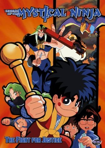 Vol. 2 Fight For Justice Legend Of The Mystical Ninja Clr Jpn Lng Eng Dub Sub Nr