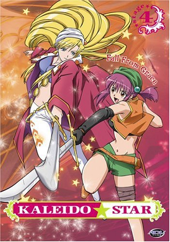 Kaleido Star Vol. 4 Fall From Grace Clr Jpn Lng Eng Dub Sub Nr