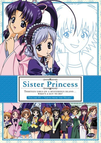 Vol. 5 Gifts From The Heart Sister Princess Clr Nr