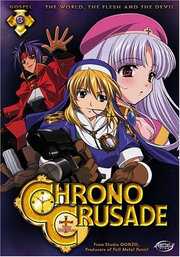 Chrono Crusade Vol. 3 World Flesh & The Devil Clr Nr