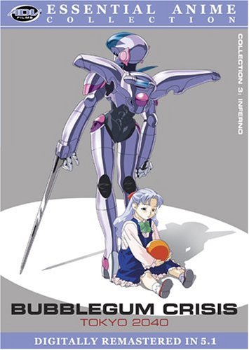 Bubblegum Crisis Toyko 2040 Vol. 3 Essential Anime Clr Nr 2 DVD