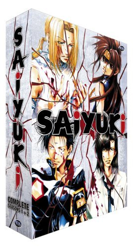 Saiyuki Complete Collection Clr Nr 10 DVD