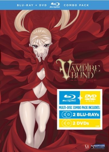 Dance In The Vampire Bund Complete Series Ws Blu Ray Tvma 4 DVD Incl. DVD