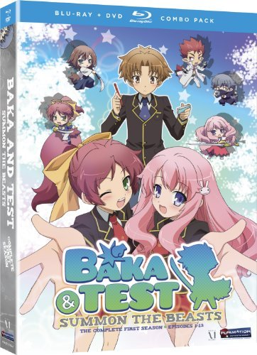 Baka & Test Season 1 Ws Blu Ray Tv14 5 DVD Incl. DVD