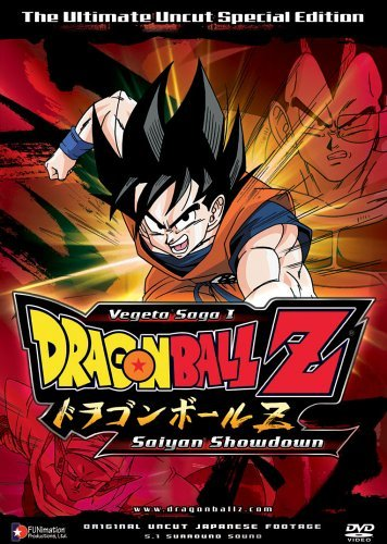 Dragon Ball Z Saga 1 Vol. 1 Saiyan Showdown Clr Nr