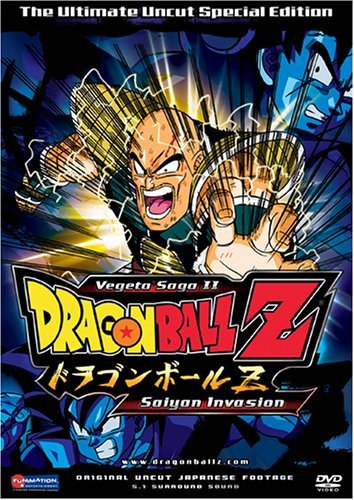 Dragon Ball Z Vol. 8 Saiyan Invasion Uncut