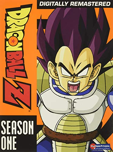 Dragon Ball Z (vegeta Saga) Season 1 DVD Tvpg