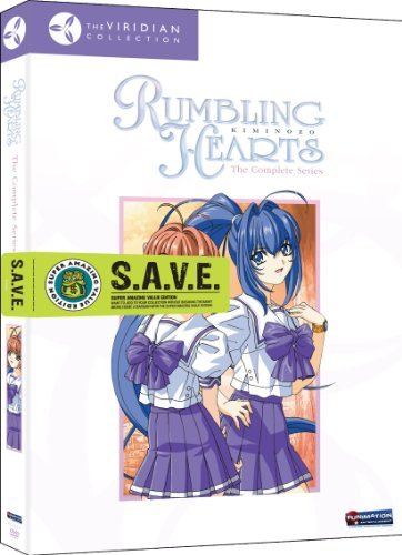 Rumbling Hearts Complete Seri Rumbling Hearts Tv14 3 DVD