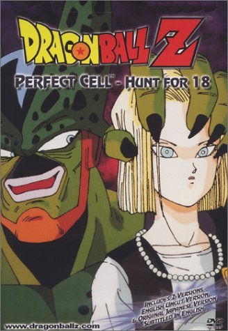 Dragon Ball Z Perfect Cell Hunt For 18 Clr Nr Uncut