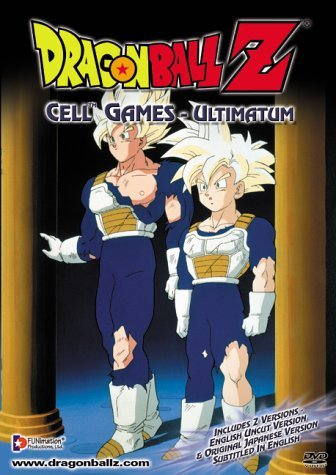 Dragon Ball Z Cell Games Ultimatum Clr Nr Uncut