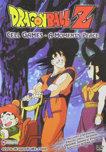 Dragon Ball Z Cell Games Moments Peace Clr Jpn Lng Eng Dub Sub Nr Uncut