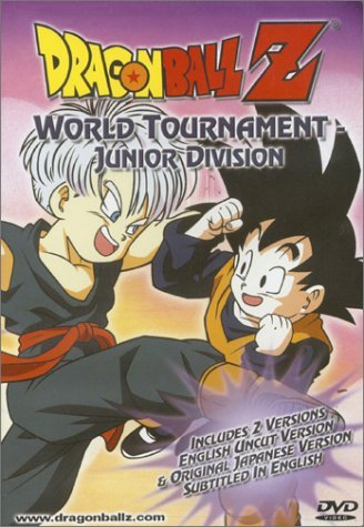 Dragon Ball Z World Tournament Junior Divison Clr Nr