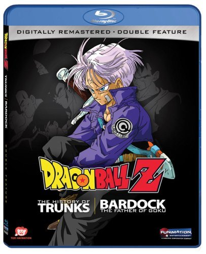 Dragon Ball Z Bardok Trunks Double Feature Ws Blu Ray Nr
