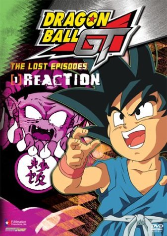 Dragon Ball Gt Lost Episodes Vol. 1 Reaction Clr Nr Uncut