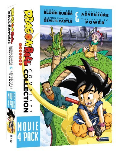 Dragon Ball 4 Movie Pack Dragon Ball 4 Movie Pack Tv14 2 DVD