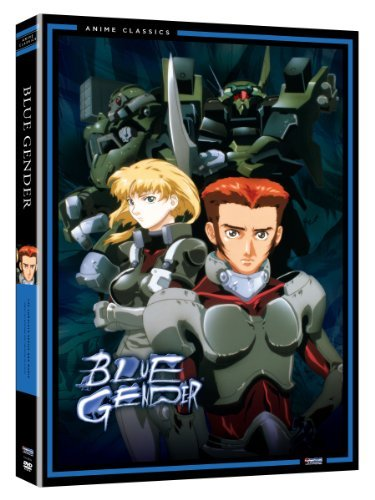 Blue Gender Box Set With Warr Blue Gender Tvpg 5 DVD