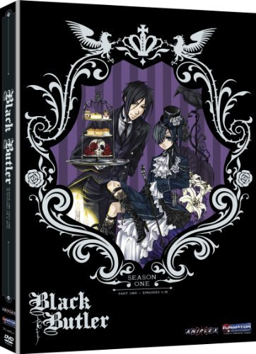 Black Butler Season 1 Pt. 1 Tv14 2 DVD
