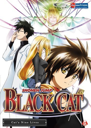 Black Cat Vol. 6 Cat's Nine Lives Uncut Tvpg