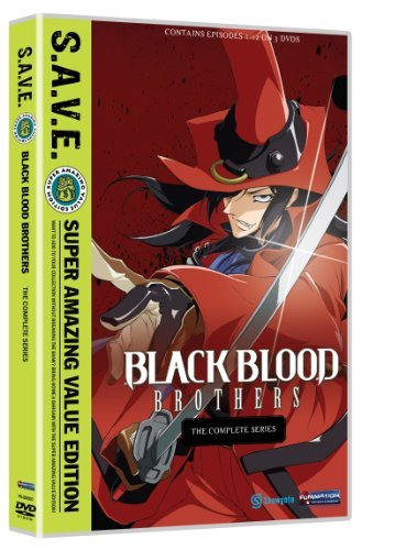 Black Blood Brothers Complete Series S.A.V.E. Ws Blu Ray Tvma 2 DVD