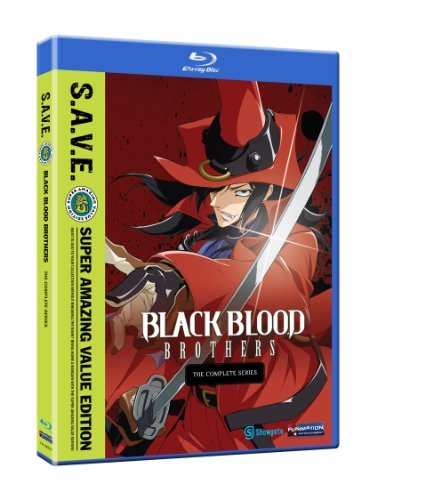 Black Blood Brothers Complete Series S.A.V.E. Ws Blu Ray Tvma 3 DVD