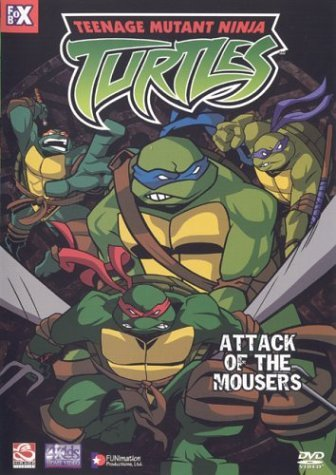 Teenage Mutant Ninja Turtles Attack Of The Mousers Clr Nr Edited