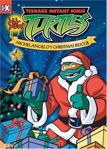 Teenage Mutant Ninja Turtles Michelangelo's Christmas Rescu Clr Nr