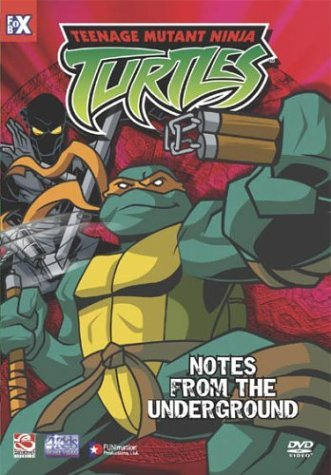 Teenage Mutant Ninja Turtles Vol. 5 Notes From Underground Clr Nr