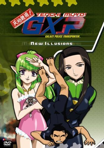 Tenchi Muyo Gxp Vol. 4 New Illusions Clr Nr Uncut