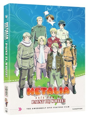 Hetalia Paint It White The Movie Hetalia Paint It White The Movie DVD Tvma
