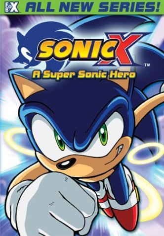 Sonic X Vol. 1 Super Sonic Hero Clr Nr Edited