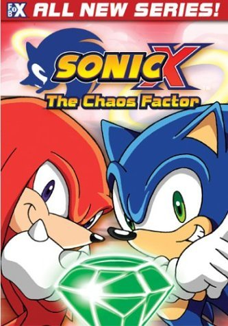 Sonic X Vol. 2 Chaos Factor Clr Nr Edited