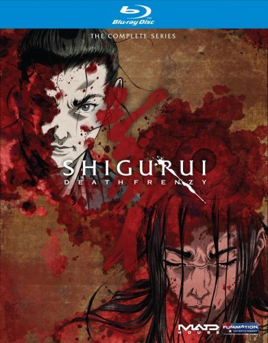 Shigurui Death Frenzy Complete Series Box Set Ws Blu Ray Nr 2 DVD