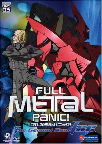 Fullmetal Panic Vol. 3 Second Raid Tactical Op Clr Tv14