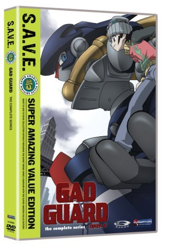 Gad Guard Box Set S.A.V.E. Gad Guard Tvpg 4 DVD