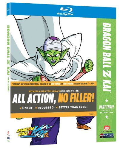 Dragon Ball Z Kai Season 1 Pt. 3 Ws Blu Ray Tvpg 2 DVD