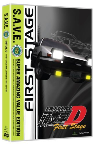 Initial D Stage One S.A.V.E. Tvpg 4 DVD
